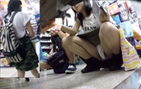 【フルHD】靴カメ君が行くPart296【私服J△?J△?手撮りあり編】