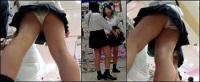 【高画質】制服娘逆さ撮りNo37