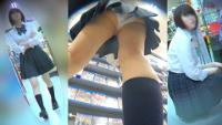 ゲーム好きのミニスカ制服Kちゃんのパンチラ攻略