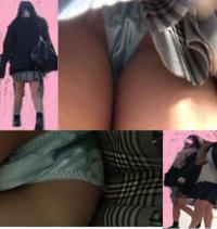 【高画質】女子高生パンチラ駅改札で待ち合わせ2組㉒