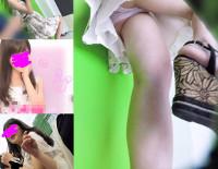 【顔出し私服7】プリクラで激カワお嬢様JDのピンクPを好き放題覗く。2カメ体制&ラクガキ中直撮り【声かけ】