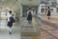 「おまけ付き」ムッチリ感がたまらない!制服JK生P撮り10