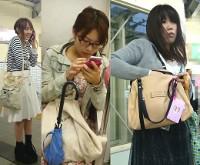新作!【限定7セット!】ゲリラ的スカートめくりで3人のお姉さんのパンティ丸見え!!part1