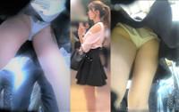 【ZBH-052】スレンダー巨乳美少女たちのモロ見えホワイトパンティー