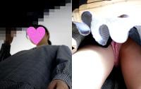 いかめし第一話 JK私服!めっかわ女子の水玉Pとハミ○を鮮明撮り!