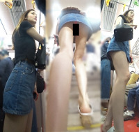 【ZBH-062】夏休み中女子大生!圧巻のモデル美脚ピンクT