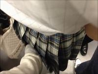 電車でK痴漢&下着盗撮してみた