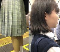 【下から】人気制服JK接写編PART1【突っ込み】