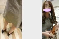 美少女!ミニワンピの下はピンクドットのパンティ*2日撮りで魅せるパンティバリエーション