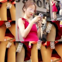 中国の超美人四人街撮りパンチラ オムニバス