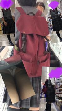 逆さ撮り JK6人のスカートの中撮らせて頂きました。vol.6