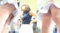 【高画質60fps】強烈!!美人白パン三連発★☆ローアン美女の下着3名☆★《2》