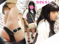 買い物中の美少女私服C?JK?ちゃんの縞々パンツ盗撮撮れた・・・【4k】