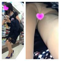 【美人秘書】スタイル抜群の社長秘書のスカートのなかを盗撮!タイトスカート OL