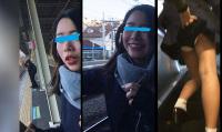 part6 めくられた美女Jちゃんと3人の可愛い子ちゃん達