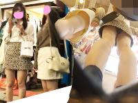 【5人】街撮りで美少女JK・JDちゃん達を撮り放題してきたw【4k】