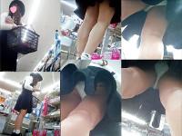 靴カメ28【黒ワンピのお姉さん】