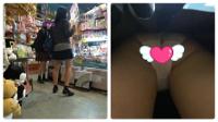 ダックス作品9・制服女子2人組ダブルゲット!プラス1人、制服女子の白!