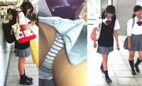 制服コスプレ娘のパンティ Vol.7
